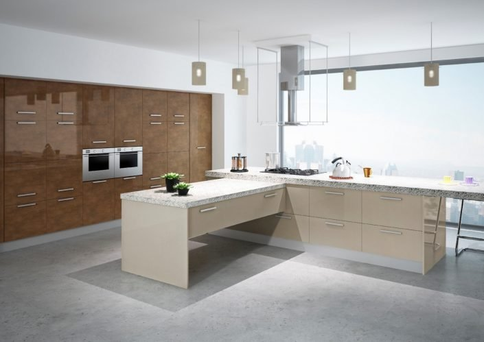 High Gloss Kitchens Ireland